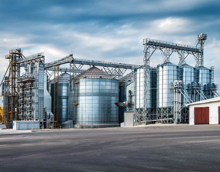 Agro-processing,And,Manufacturing,Plant,For,Processing,And,Silver,Silos,For